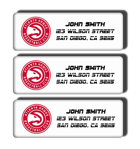Atlanta Hawks Labels