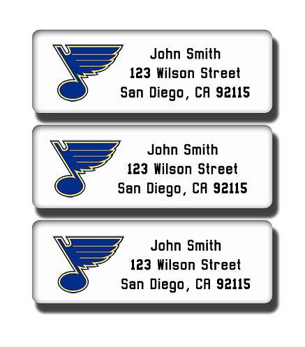 St. Louis Blues Labels