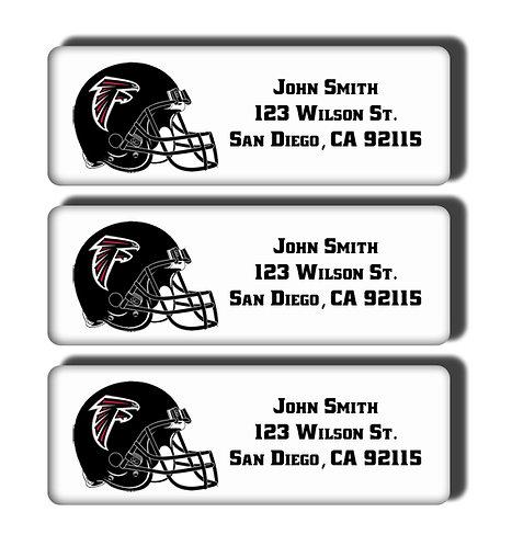 Atlanta Falcons Labels