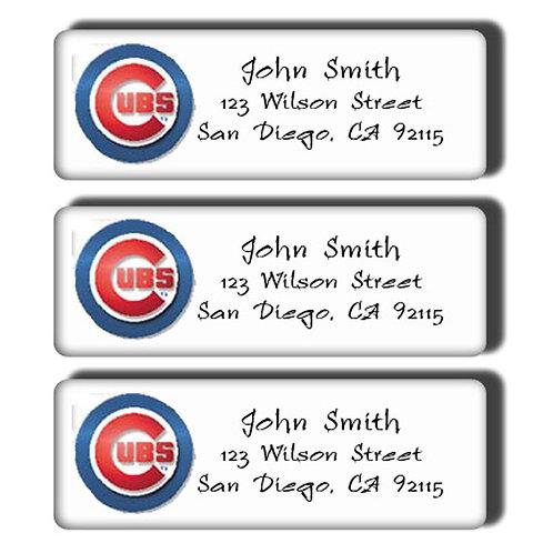 Chicago Cubs Labels