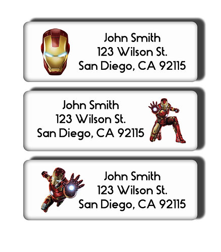 Ironman Labels