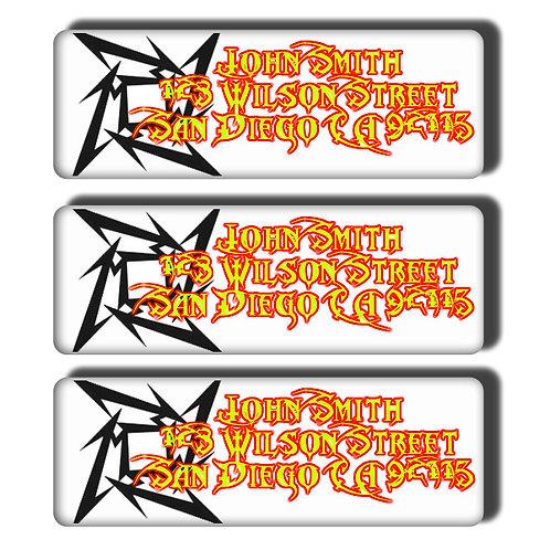 Metallica Labels