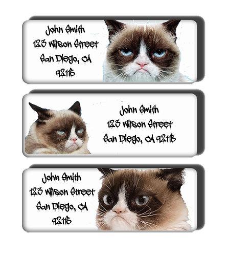 Grumpy Cat Labels
