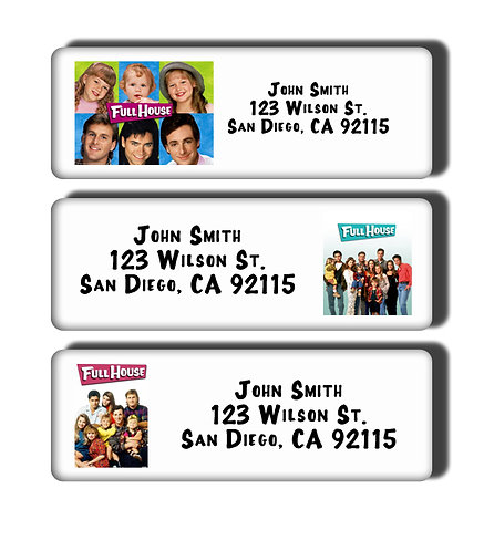 Full House Labels