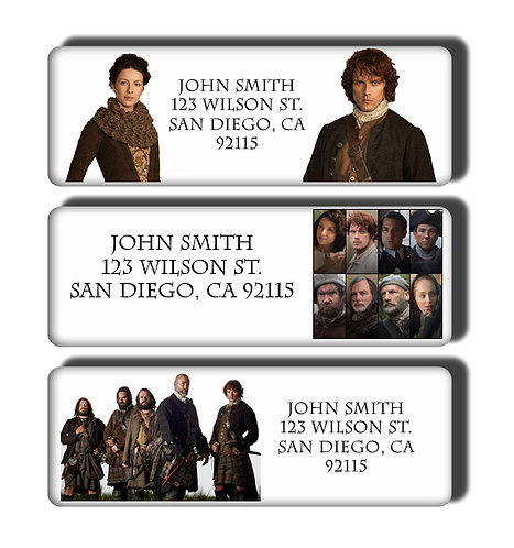 Outlander Labels