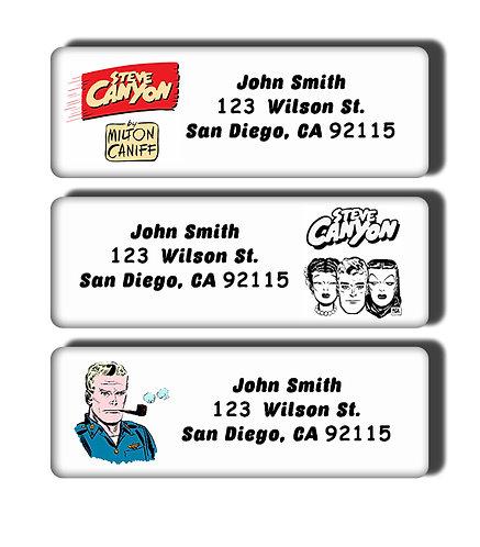 Steve Canyon Labels