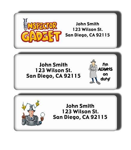 Inspector Gadget Labels