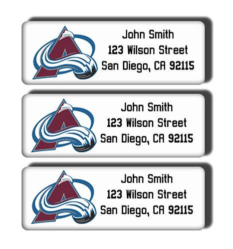 Colorado Avalanche Labels