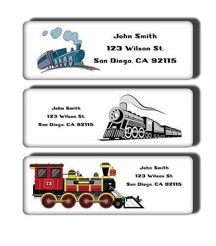 Trains Labels