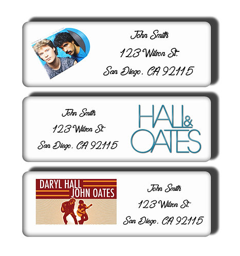 Hall & Oates Labels