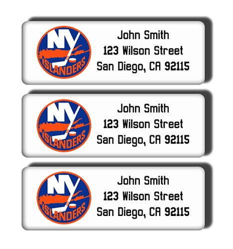 New York Islanders Labels