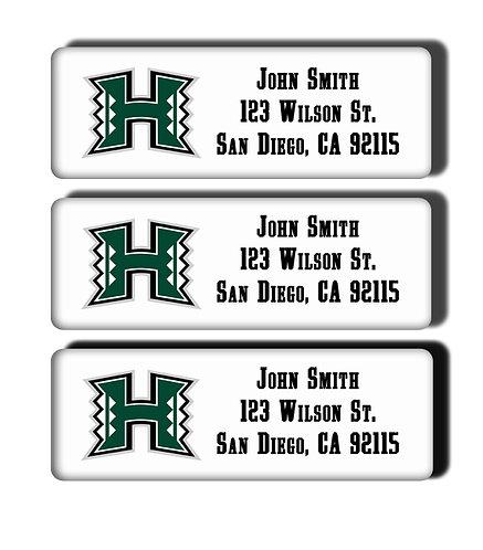 University of Hawaii Labels
