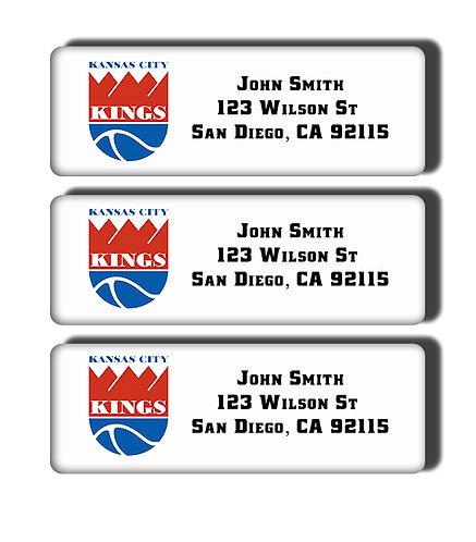 Kansas City Kings Labels