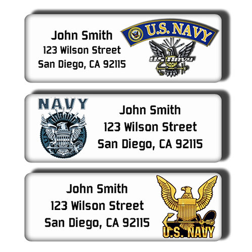 U.S. Navy Labels