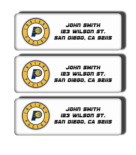 Indiana Pacers Labels