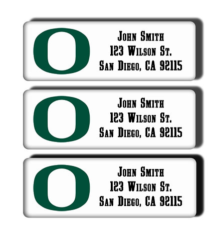 University of Oregon Labels