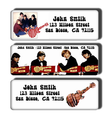 Monkees Labels