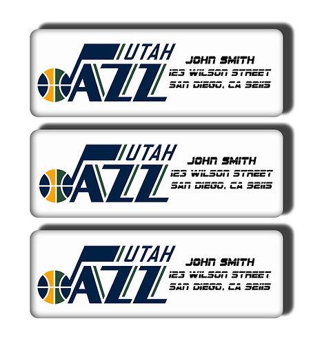 Utah Jazz Labels