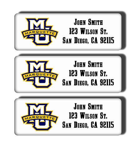 Marquette University Labels