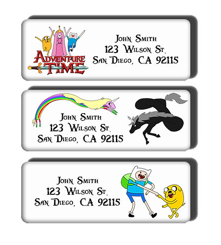 Adventure Time Labels