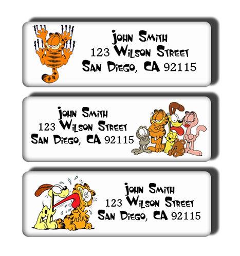 Garfield Labels