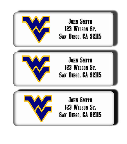 West Virginia University Labels