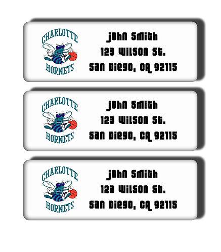 Charlotte Hornets Throwback Labels