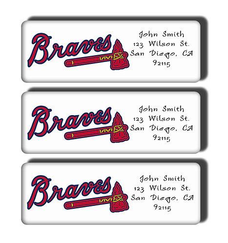 Atlanta Braves Labels