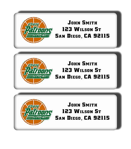 Albany Patroons Labels