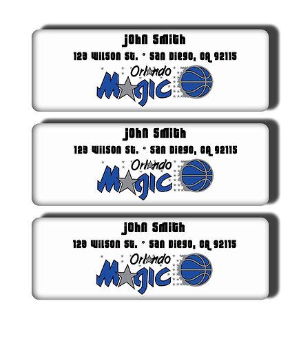 Orlando Magic Throwback Labels