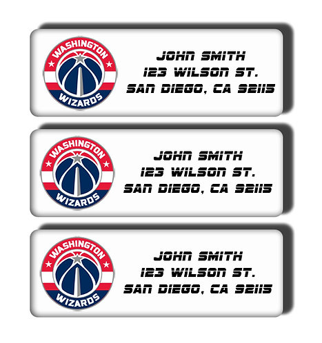 Washington Wizards Labels