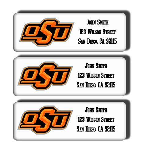 Oklahoma State University Labels