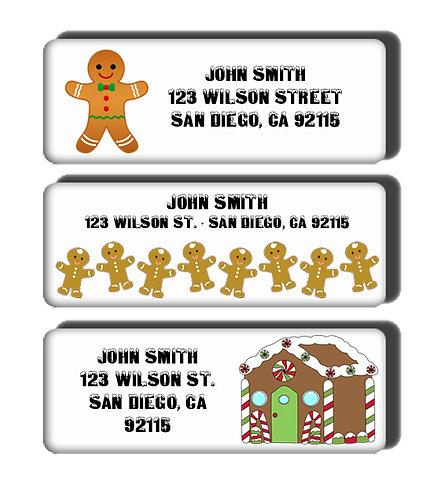 Gingerbread Labels