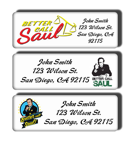 Better Call Saul Labels