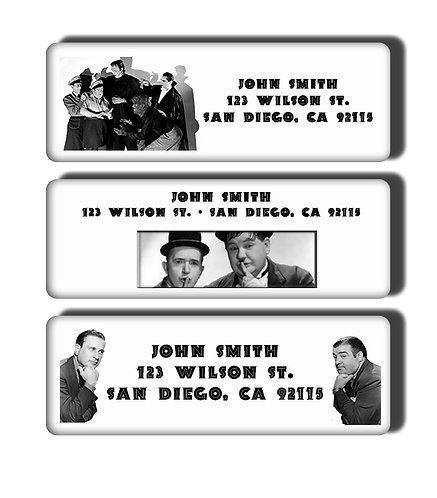 Abbott and Costello Labels