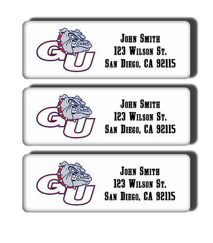 Gonzaga University Labels