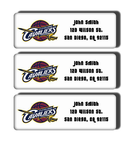 Cleveland Cavaliers Throwback Labels