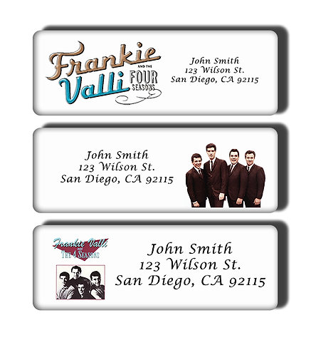Frankie Valli and the Four Seasons Labels