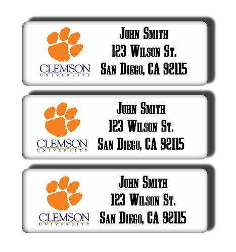 Clemson University Labels