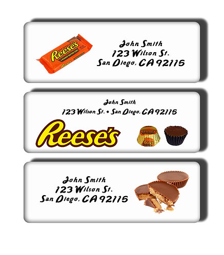Reese's Peanut Butter Cups Labels