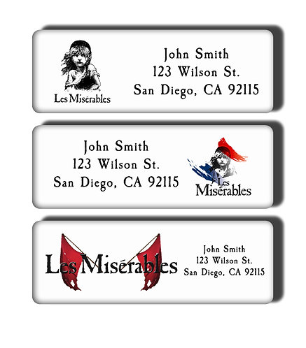 Les Miserables Labels