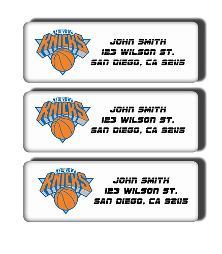 New York Knicks Labels