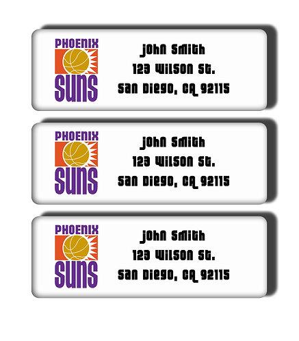 Phoenix Suns Throwback Labels