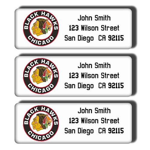 Chicago Blackhawks Labels
