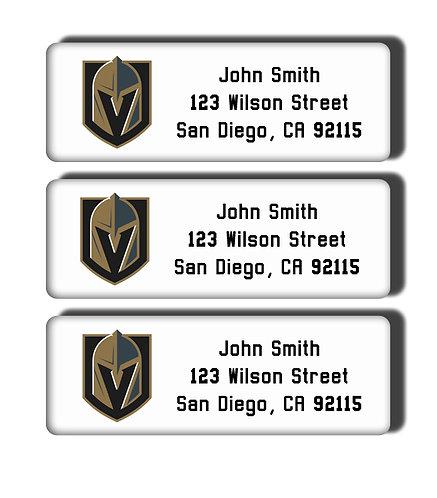 Vegas Golden Knights Labels