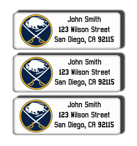 Buffalo Sabres Labels