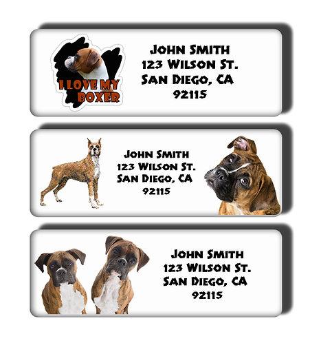 Boxer Labels