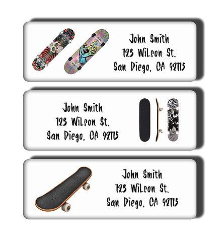 Skateboards Labels