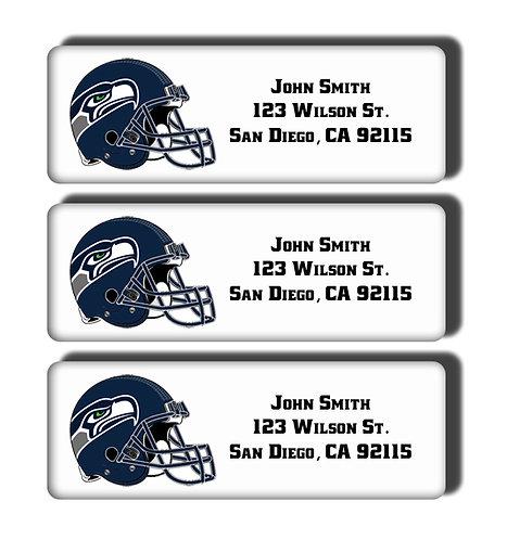 Seattle Seahawks Labels