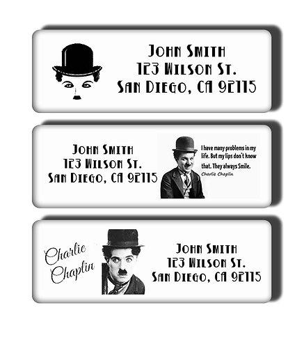 Charlie Chaplin Labels